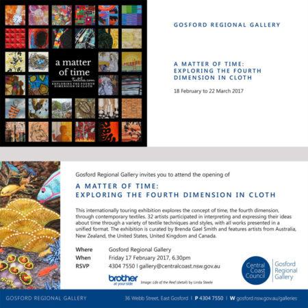 Invitation to Gosford Regional Gallery