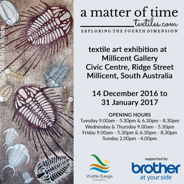 A Matter of Time - Millicent Gallery, South Australia