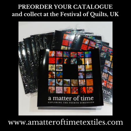 Preorder your catalogue & collect at Festival of Quilts