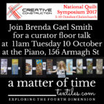 a matter of time at National Quilt Symposium New Zealand