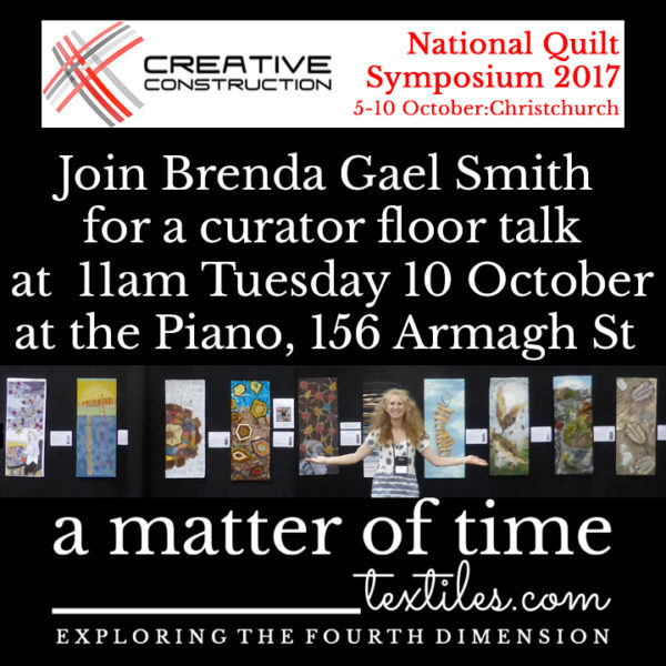 A Matter of Time Curator Floor Talk at Symposium