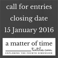 Call for Entries - a matter of time