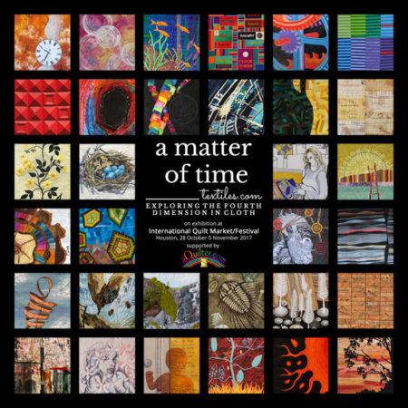 a matter of time at International Quilt Market & Festival
