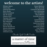 a matter of time artists
