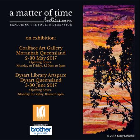 a matter of time exhibition program-Moranbah and Dysart Queensland